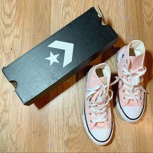 Kids Size 2 Pink Converse